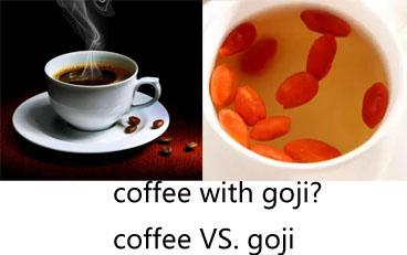 coffee with goji
